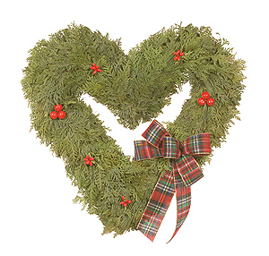 Evergreen Heart Arrangement