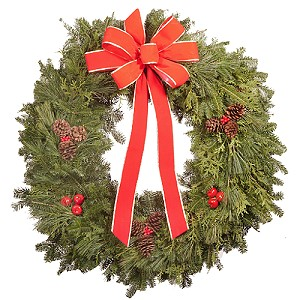 32 inch Premium Mixed Christmas Wreath