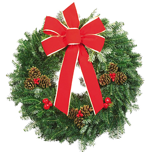 Fragrant Balsam Christmas Wreaths