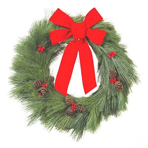 Pine Christmas Wreaths