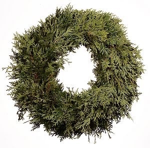 Cedar Christmas Wreaths